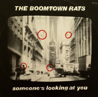"Boomtown Rats (The) - Someone's Looking At You (12"") (VG/G)"